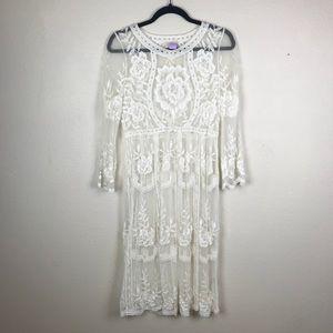 Lace Bohemian Dress